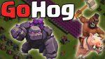 【クラクラ】th9 ゴレホグによる攻め方の基本