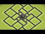 【TH9】クロスボウなしでも資源とトロを守るマルチ村配置