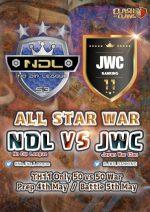 【TH11 世界代表 vs 日本代表】NDL ALLSTARS vs JWC ALLSTARS開催のご連絡 #超絶拡散希望